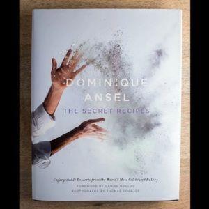 Dominique Ansel: The Secret Recipes famous recipe cookbook cook baking book NEW